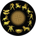 Signs of the zodiac Royalty Free Stock Photo