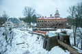 Sigulda New Castle In Latvia
