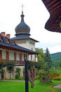 Sihastria monastery in moldavia romania Stock Photography