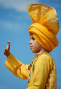 SIkh Boy Stock Photo