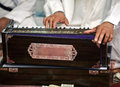 Sikh instrument-Harmonium Stock Photos