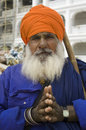 Sikh Man's Portrait Royalty Free Stock Photography