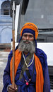 Sikh warrior Stock Photography