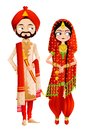 Sikh Wedding Couple Royalty Free Stock Photo