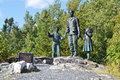 Silent witness memorial arrow air st division air disaster in gander newfoundland site of crash Royalty Free Stock Image