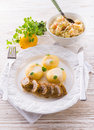 Silesian dumplings Royalty Free Stock Photo
