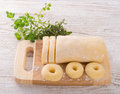 Silesian dumplings Stock Images