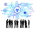 Silhouette Group Of Business P...