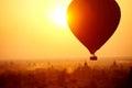 Royalty Free Stock Photo Bagan Balloon