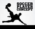 Silhouette Soccer Player