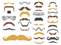 Silhouette vector mustache hair hipster curly collection beard barber and gentleman symbol fashion adult human facial