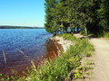 Siljan lake Sweden Royalty Free Stock Photo