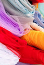 Silk Cloth Stock Photo