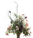 Silk Flower Arrangement Royalty Free Stock Photo
