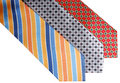 Silk neckties Royalty Free Stock Photography