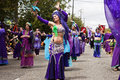 Silk Road Belly Dancers Royalty Free Stock Photography