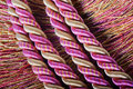 Silk ropes Royalty Free Stock Photo