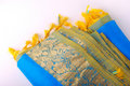 Silk saree Stock Photo