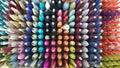 Silk thread socket Royalty Free Stock Photo