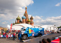 Silk Way Rally start Royalty Free Stock Image