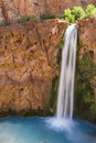 Silky Mooney Falls Royalty Free Stock Photo