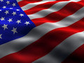 Silky US Flag Stock Photos