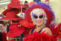 Silly senior woman Royalty Free Stock Photo