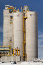 Silo storage Royalty Free Stock Image
