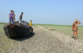Silted River Of Sundarban Royalty Free Stock Photo