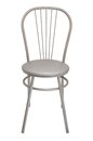 Silver chair Royalty Free Stock Photo