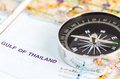 silver compass Royalty Free Stock Photo