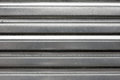 Silver Corrugated Metal Texture Royalty Free Stock Images