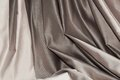 Silver fabric folds, background Royalty Free Stock Photo