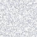 Silver glitter texture. Vector seamless pattern.