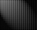 Silver grid with light effect Stock Images