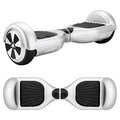 Silver hover board Royalty Free Stock Photo