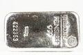 Silver kg bullion of kilogramm fine Royalty Free Stock Images