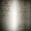 Silver old brushed metal background texture Royalty Free Stock Photo