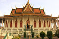 Silver Pagoda, Royal Palace, Phnom Penh, Cambodia Royalty Free Stock Photos