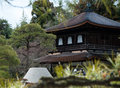 Silver pavilion kyoto japan unesco world herritage site Stock Photo