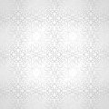Silver seamless luxurious wallpaper vector Stock Images