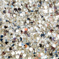 Silver sequins texture Stock Photography