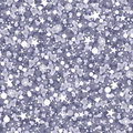 Silver sparkles seamless pattern background vector with glittering texture Royalty Free Stock Photography