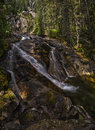 Silver Tip Falls, Wells Gray Provincial Park, North Thompson, ne Royalty Free Stock Photo