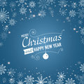 Silver winter abstract background. Christmas  with snowflakes. Vector. Royalty Free Stock Photo