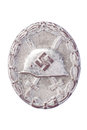 Silver wound badge german military award Royalty Free Stock Image