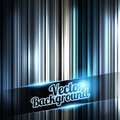 Silverl and shiny stripes background. With place for your text. Royalty Free Stock Images