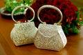 Silverware Handbag Royalty Free Stock Photo