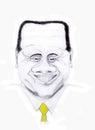 Silvio Berlusconi Royalty Free Stock Photo