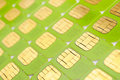 SIM cards Stock Photo
